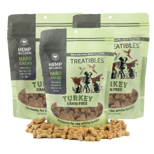 Treatibles Turkey Grain Free Hard Chews