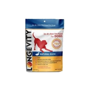 Longevity Natural Duck Beef Patties For Dogs