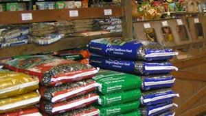 in store image of wild bird feeds