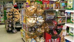 image of pet products in store