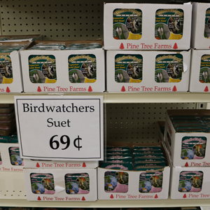 $.69 Bird Watcher Suet Cakes
