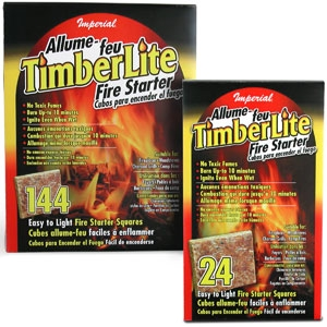 Imperial Manufacturing Group Timberlite Fire Starter Squares