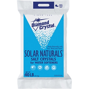 Diamond Crystal Solar Naturals Water Softener Salt Crystals