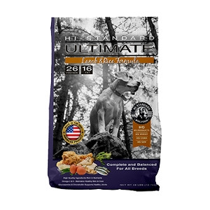 Hi-Standard Ultimate Lamb Meal & Rice Formula