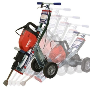 Makinex Jackhammer Trolley Tile Stripper