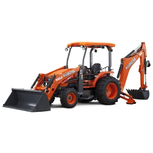 Kubota M62 Tractor Loader Backhoe