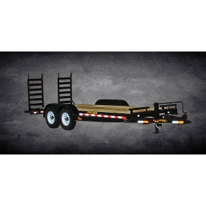 84 x 20 Flatbed Equipment Trailer