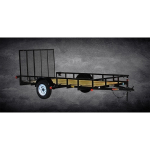 Doolittle Premier Pipe-Top Utility Trailer