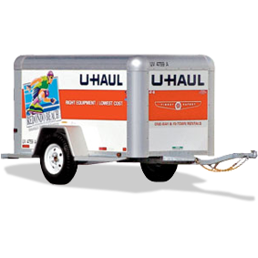 UHAUL Trailers - All sizes available