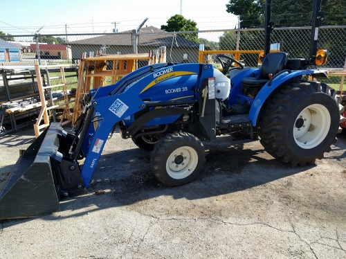 New Holland Boomer 35 Tractor Heidrick S True Value Just