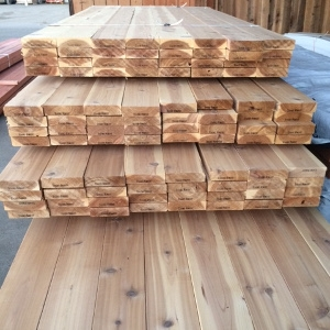 NEW Western Red Cedar Decking