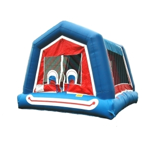 Spacewalk Clown Face Moonwalk Bounce House