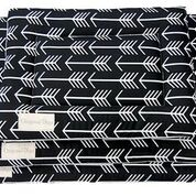 Original Digs Pet Pad- Archery Arrows Black