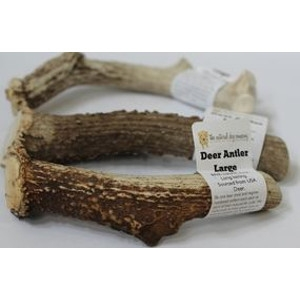 The Natural Dog Company Deer Antler Dog Chews