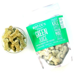 Bocce's Bakery Green Juice Kale and Mint Dog Treats