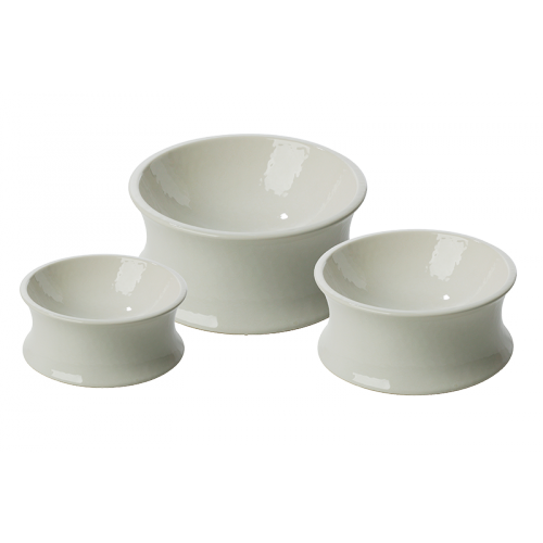 One For Pets The Kurve Ceramic Pet Bowls
