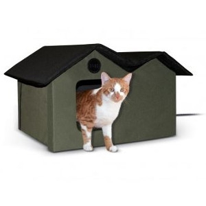 Outdoor Kitty House Extra Wide