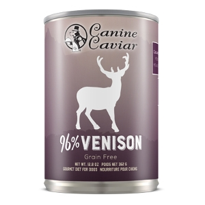 Canine Caviar Venison Grain Free Canned Dog Food