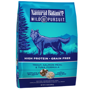 Wild Pursuit™ Trout, Salmon Meal & Tuna Dry Dog Formula