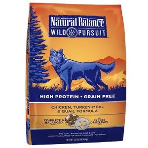 Wild Pursuit™ Chicken, Turkey Meal & Quail Dry Dog Formula