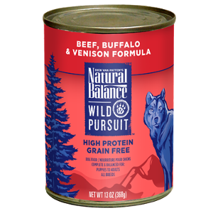 Wild Pursuit™ Beef, Buffalo & Venison Canned Dog Formula