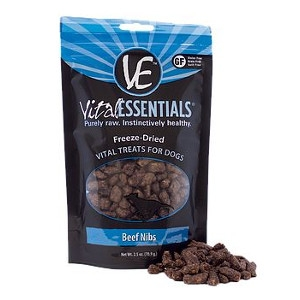 Freeze-Dried Vital Essentials Treats Beef