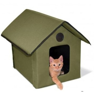 Outdoor Kitty House - Heated and Unheated