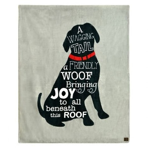 A Wagging Tail Dog Blanket