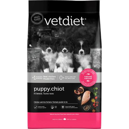 VetDiet Puppy Chiot Chicken and Rice Formula