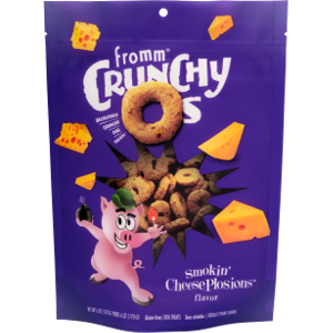 Crunchy O's Smokin' CheesePlosions Dog Treats