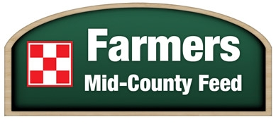 Farmers Mid-County Feed Logo
