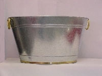Bucket, Ice Galvanized