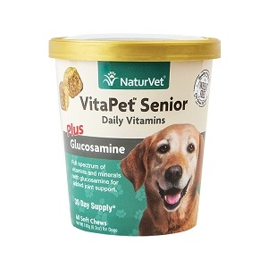 NaturVet VitaPet™ Senior Daily Vitamins Soft Chews