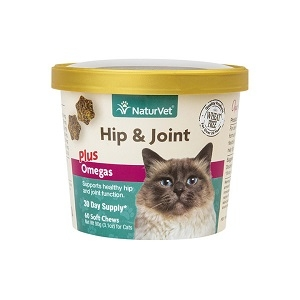 NaturVet Hip & Joint Cat Soft Chews