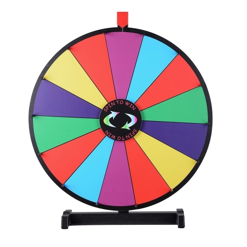 Colored Spinning Wheel