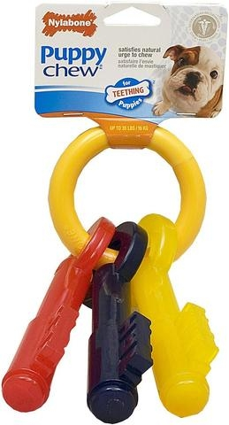 Nylabone Puppy Teething Chew Keys
