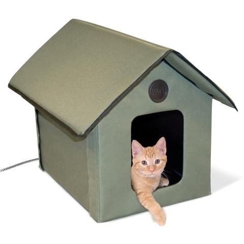 Outdoor Thermo Heated Kitty House