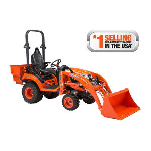 Kubota B2650 Utility Tractor with Bucket