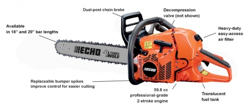 Echo CS-590 Chainsaw