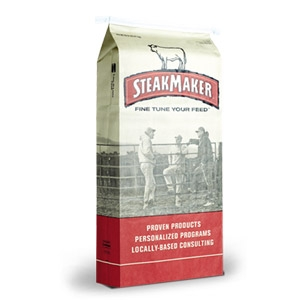 Purina® SteakMaker® Finisher 40-28 R400 Cattle Supplement