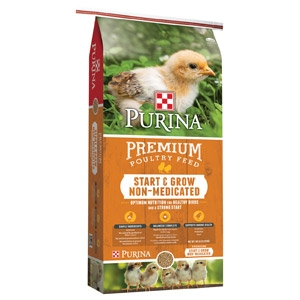 Purina® Start & Grow® Non-Medicated Chick Starter 25 lbs.