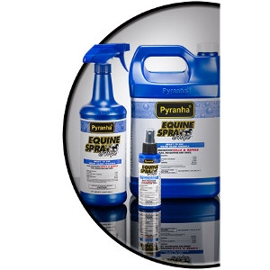 Pyranha Equine Spray and Wipe™ - Water Based