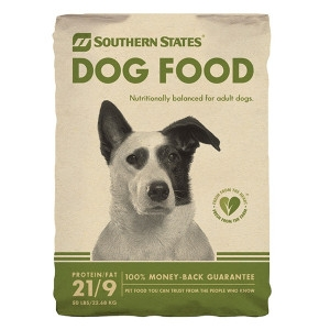 Southern States Adult Dog Food, 50# - $21.88