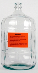 CARBOY GLASS 5 GAL SMALL MOUTH