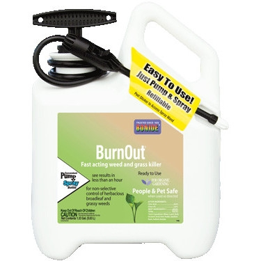 Bonide Burn Out Weed & Grass Killer, RTU 1.33 Gallon