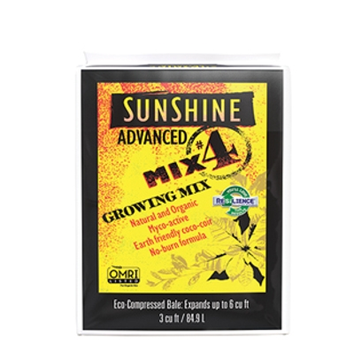 Sun Gro Sunshine #4 Advanced Growing Mix, 3 cu. ft.Â