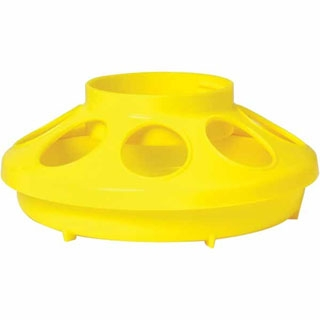 Little Giant Yellow Plastic Feeder Base