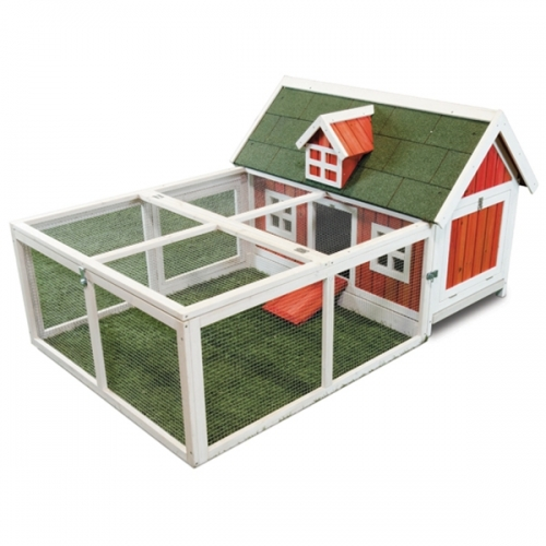 Ware Lil Red Hen Chicken Coop