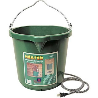 Oversized Heated 5 Gallon Flat Back Bucket