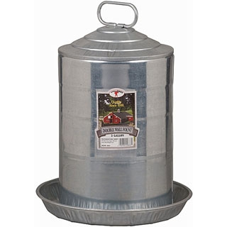 Little Giant Double Wall Fount Waterer, 3 gallons